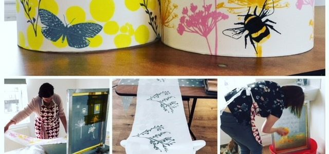 Lampshade Making at Ditzy Rose Makery Cheshire